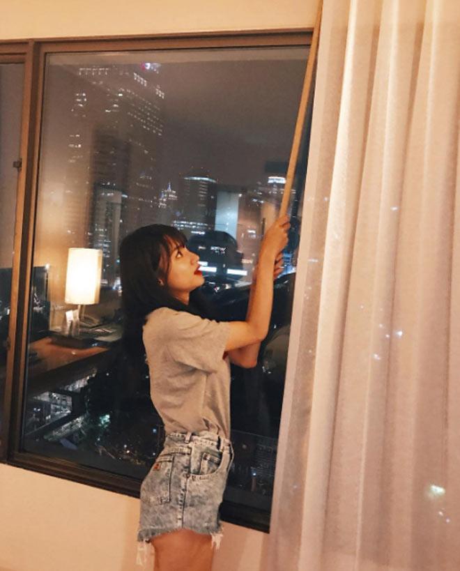 """Hương Giang Idol đích thị là """"dân nghiện quần 5cm chuyên nghiệp"""" - 3"""