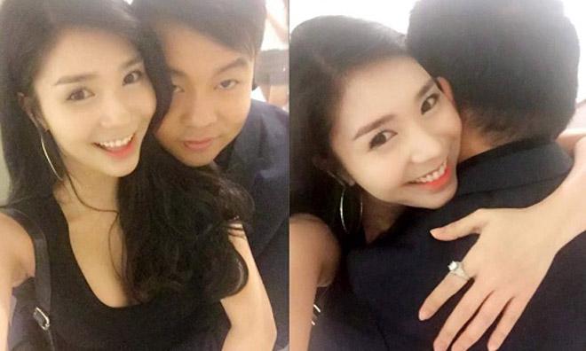 Quang Lê, Thanh Bi: Hai năm yêu nhau ngập tràn ảnh nóng - 9