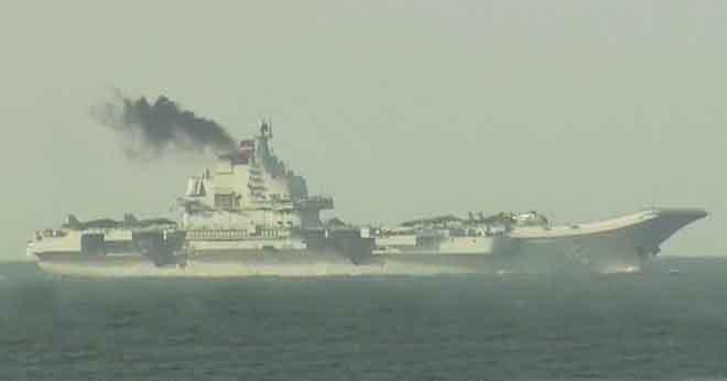 Tàu sân bay TQ xả khói đen bằng 500.000 ôtô ở Hong Kong - 1