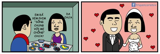 Truyện tranh: Em đã xem Sống Chung Với Mẹ Chồng chưa? - 3