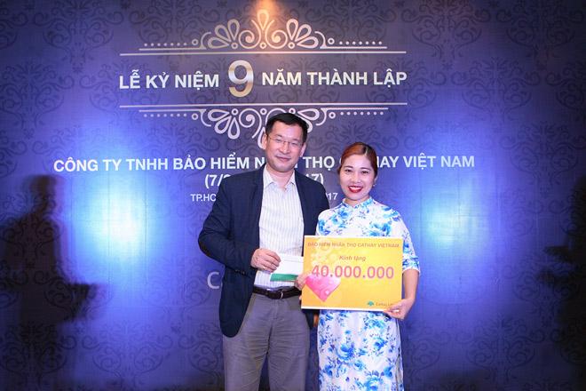 Công ty BHNT Cathay kỉ niệm 9 năm hoạt động tại Việt Nam - 1