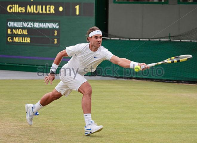 Chi tiết Nadal - Muller: Trả giá đắt vì sai lầm (Vòng 4 Wimbledon) (KT) - 12