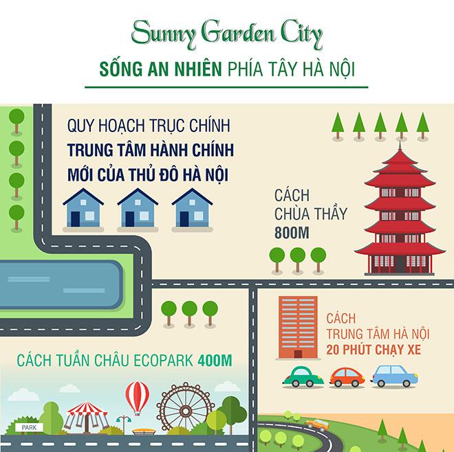 Sunny Garden City: Sống an nhiên phía Tây Hà Nội - 1