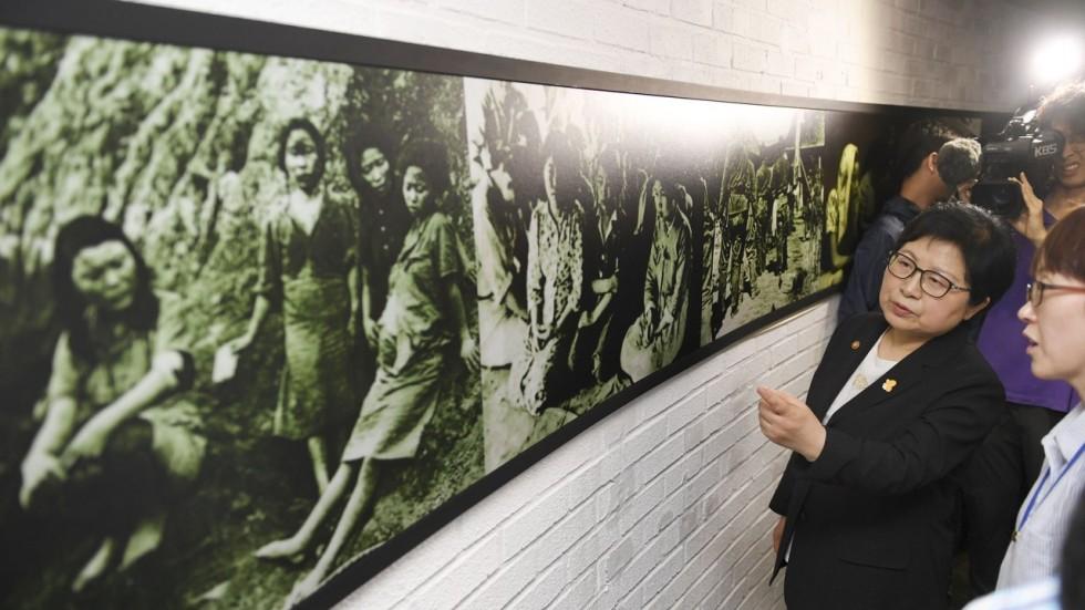 """Mở bảo tàng """"nô lệ tình dục thời thế chiến"""" ở Hàn Quốc - 1"""