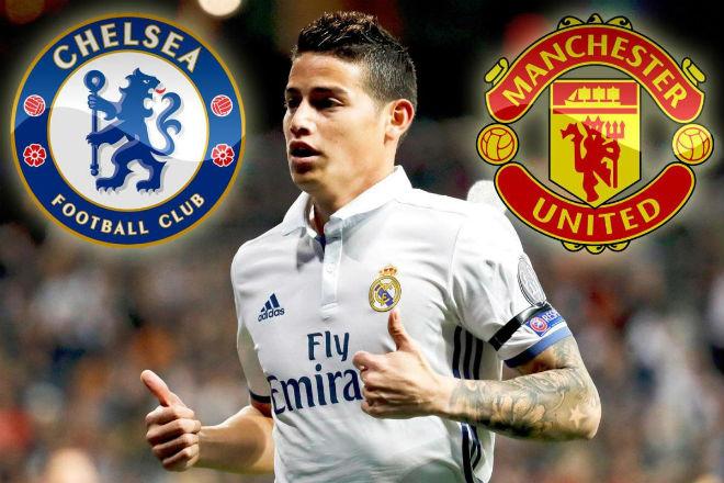 Chuyển nhượng MU 10/7: Gặp khó vụ James Rodriguez vì Chelsea - 1