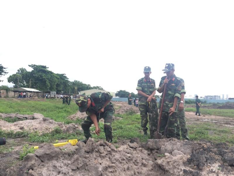 Tìm thấy di vật của các liệt sĩ ở Tân Sơn Nhất - 1