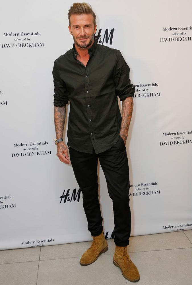 Beckham cứ sành điệu như này trách sao các chân dài mãi mê mệt - 2