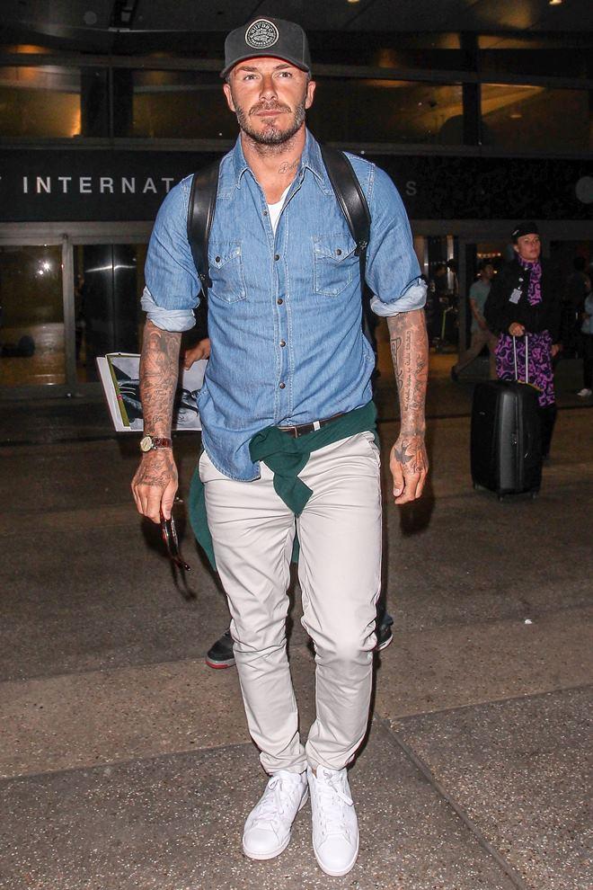 Beckham cứ sành điệu như này trách sao các chân dài mãi mê mệt - 6