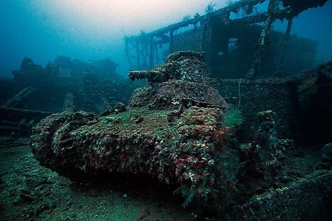 """Hạm đội tàu chiến """"ma"""" của Nhật Bản dưới Thái Bình Dương - 2"""