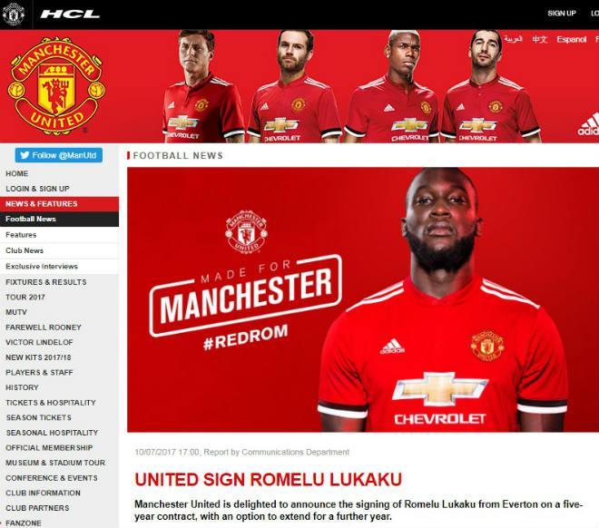 Lukaku chính thức về MU: Không lấy áo Rooney, chọn kế vị Ibra - 3