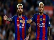 """Bóng đá - Barca """"án binh bất động"""": Messi nản lòng, Neymar phát cáu"""
