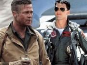 """Brad Pitt và Tom Cruise: Ai vào vai quân nhân  """" chuẩn """"  nhất?"""