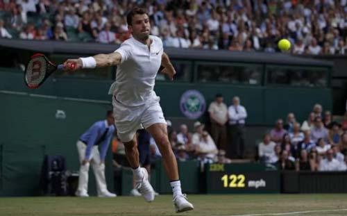 Chi tiết Federer - Dimitrov: Không đủ ổn định (Vòng 4 Wimbledon) (KT) - 4