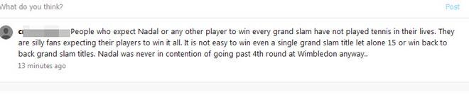Wimbledon, kinh điển Nadal: Thế giới bàng hoàng, fan bênh vực - 1