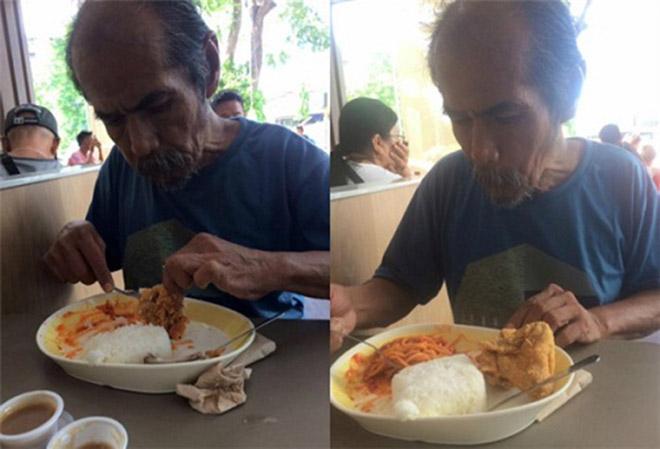 Bữa trưa của ông lão lang thang và bài học đáng suy ngẫm - 2