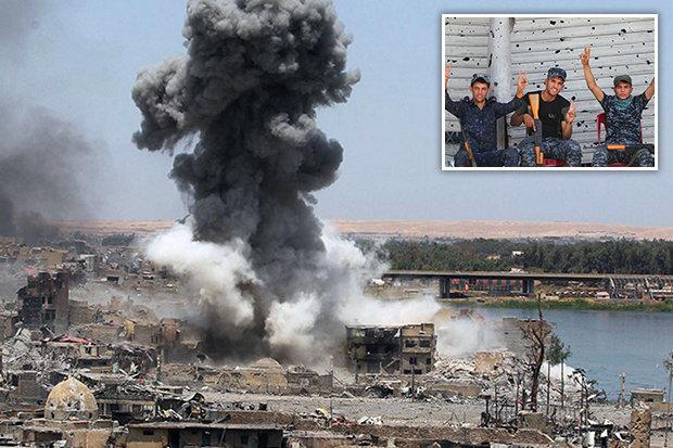 Quân IS nhảy xuống sông vì mất thành trì cuối cùng ở Iraq - 1