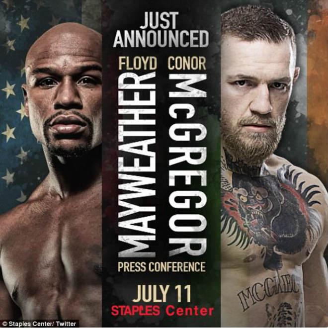 Tin thể thao HOT 11/7: McGregor và Mayweather giáp mặt lần đầu tiên - 1