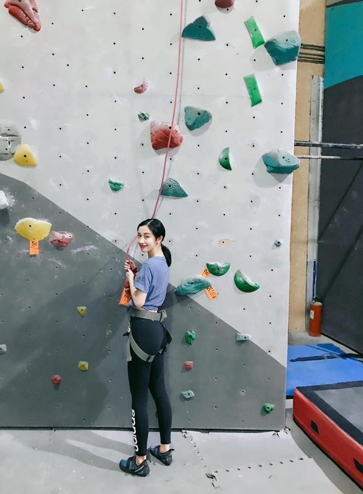 Nữ diễn viên Jun Vũ giữ vòng eo con kiến bằng Muay Thái - 5