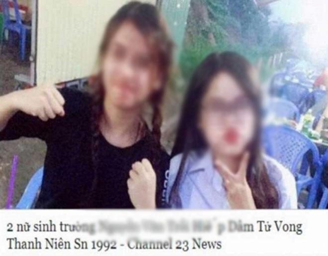 """Công an truy tìm kẻ tung tin """"2 nữ sinh hiếp dâm thanh niên tới chết"""" - 1"""