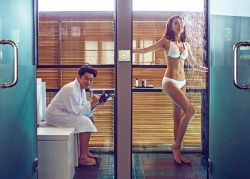Cô vợ Hoa hậu nóng bỏng của tài tử vừa lùn vừa xấu trai nhất Hong Kong - 5