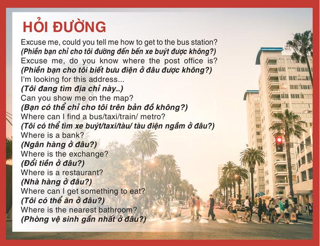 Bỏ túi những mẫu câu tiếng Anh mà mọi tín đồ du lịch đều thuộc lòng - 4