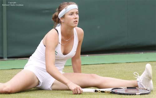 """6 nữ thần tennis nóng bỏng nhất """"đốt cháy"""" Wimbledon 2017 - 4"""