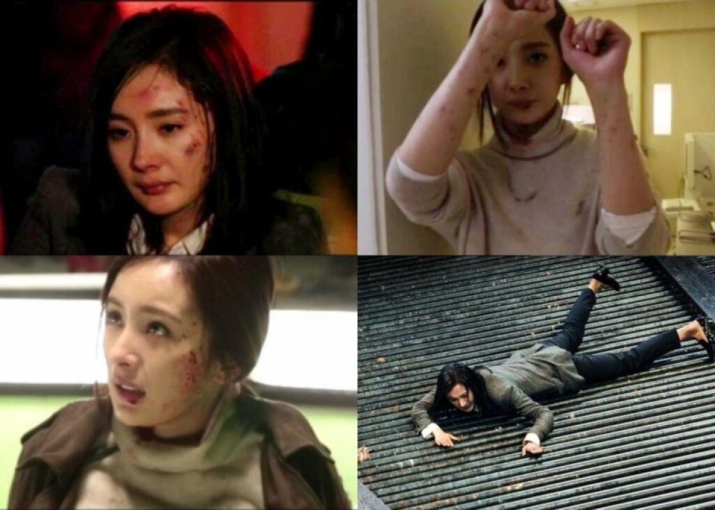 Dương Mịch chấp nhận bị thương, không cần diễn viên đóng thế - 4