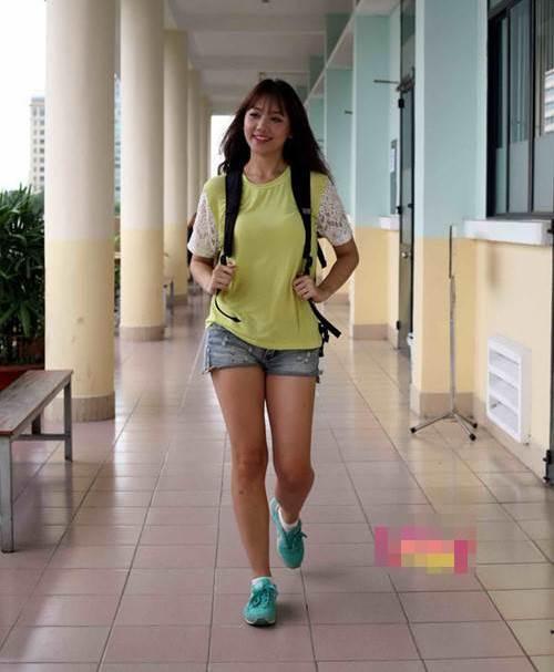 Hari Won: Từ cô gái ngấn mỡ đến mỹ nhân mình hạc xương mai - 1