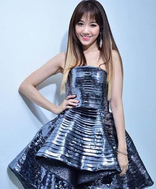 Hari Won: Từ cô gái ngấn mỡ đến mỹ nhân mình hạc xương mai - 10