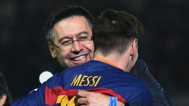 """Messi - Barca và """"kẻ thù"""" lớn nhất: Không phải Ronaldo mà là...Bartomeu - 2"""