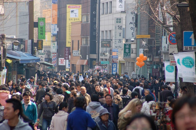 Dân Hàn Quốc coi thường nguy cơ nã bom từ Triều Tiên - 1