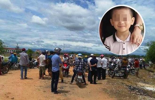 Thi thể bé trai mất tích ở Quảng Bình được phát hiện như thế nào? - 1