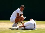 Thể thao - Tin nóng Wimbledon ngày 9: Nadal ngầm chỉ trích ban tổ chức thiên vị Federer