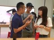 """Ảnh: """"Đột nhập"""" cửa hàng Apple Store đầu tiên ở Đài Bắc"""