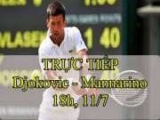 Thể thao - Chi tiết Djokovic - Mannarino: Điểm quyết định (KT)