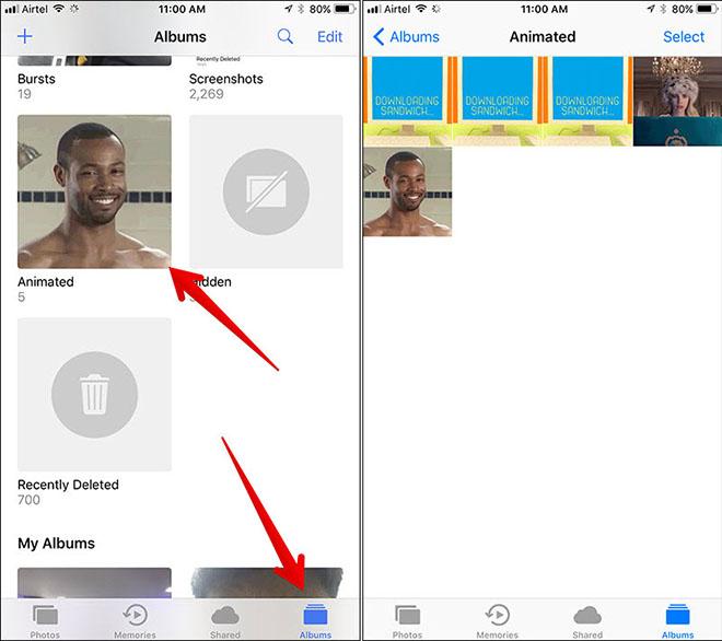 Thủ thuật iOS 11: Cách lưu và xem ảnh động GIF trên iPhone, iPad - 3