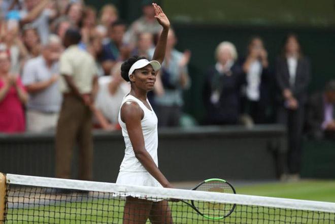 """Venus Williams - Ostapenko: Choáng với """"lão bà"""" (Tứ kết Wimbledon) - 1"""