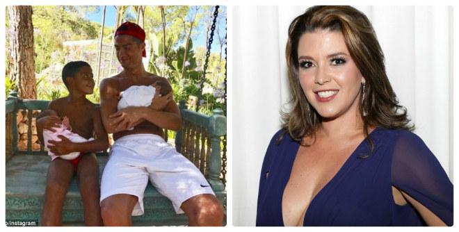 """Ronaldo thuê đẻ sinh đôi, bị cựu Hoa hậu Mỹ """"mắng"""" thậm tệ - 1"""