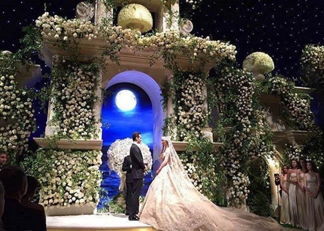 Váy cưới 227 tỷ đẹp như giấc mơ của con gái tỷ phú dầu khí Nga - 2