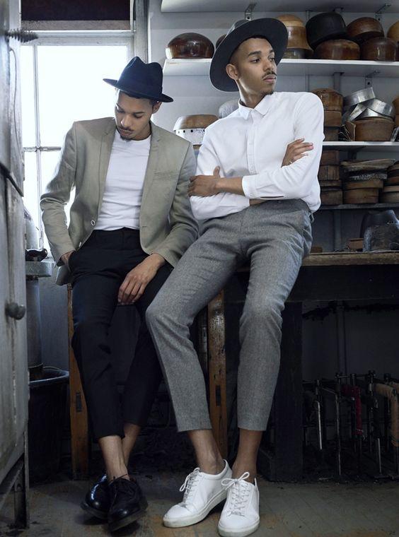 Quý ông sành điệu phải mặc veston với giày thể thao! - 7