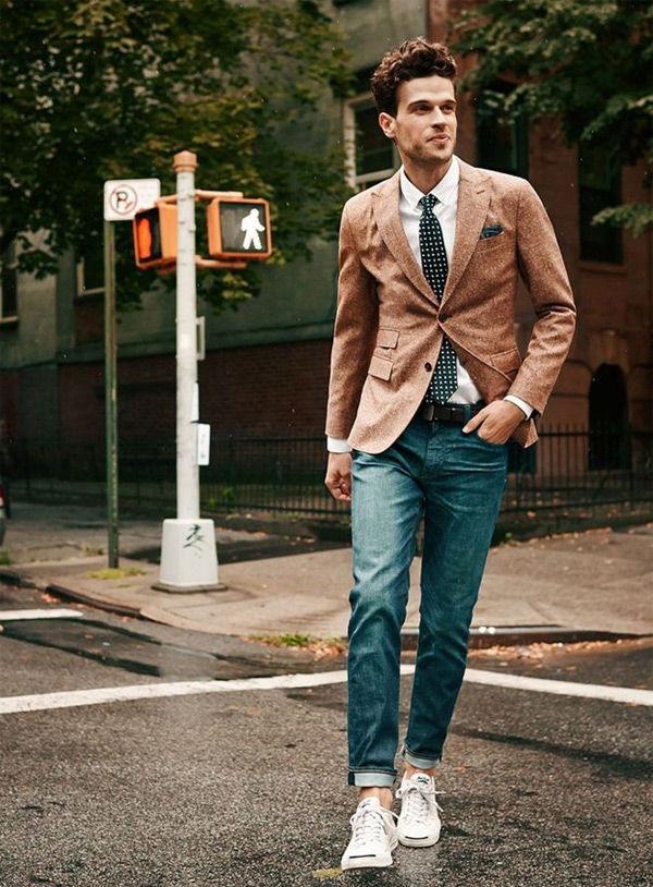 Quý ông sành điệu phải mặc veston với giày thể thao! - 4