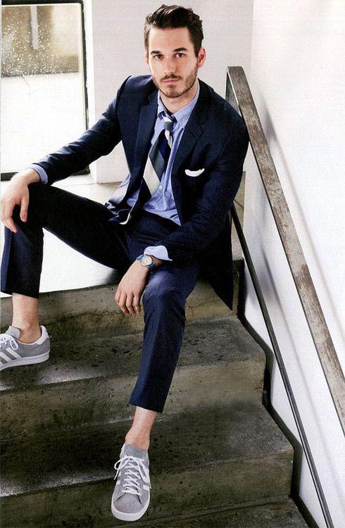 Quý ông sành điệu phải mặc veston với giày thể thao! - 13