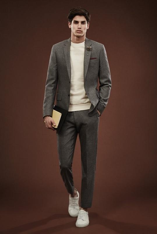 Quý ông sành điệu phải mặc veston với giày thể thao! - 15
