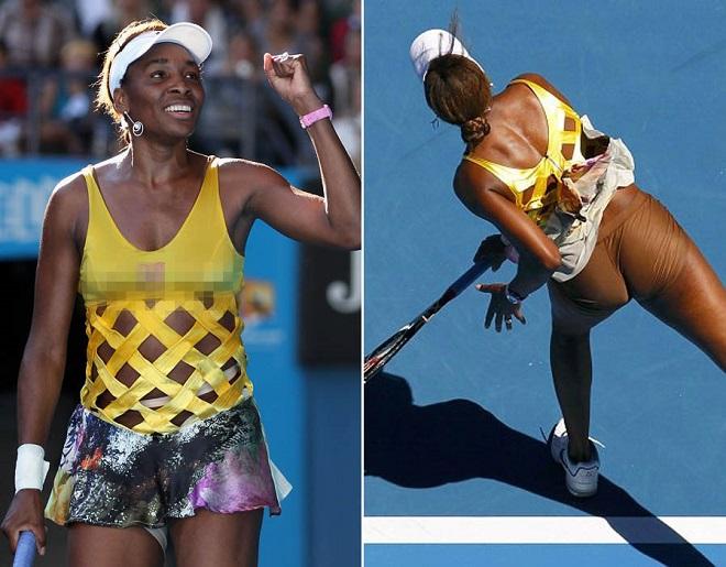 Tròn mắt ngắm váy tennis ngắn cũn cỡn như váy ngủ, nội y - 3