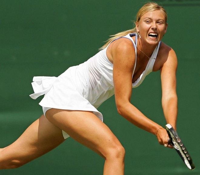 Tròn mắt ngắm váy tennis ngắn cũn cỡn như váy ngủ, nội y - 9