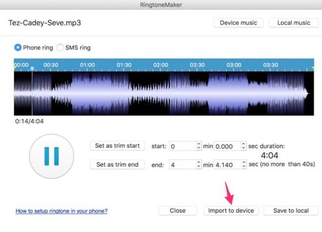5 bước tạo nhạc chuông cực độc cho iPhone - 3