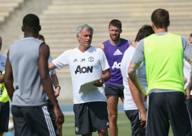 """Dàn sao MU miệt mài """"luyện công"""" tại Mỹ: Mourinho tung chiêu lạ - 5"""