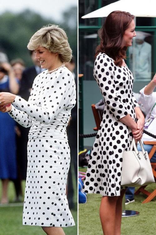"""6 lần công nương Kate """"mượn"""" quần áo của mẹ chồng Diana - 3"""