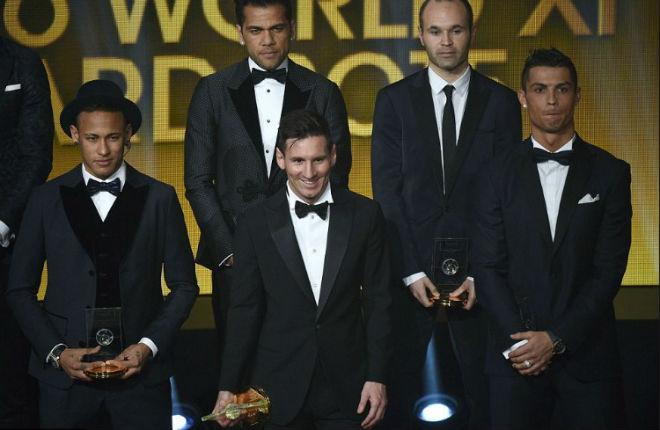 """Đua Quả bóng vàng: Neymar """"mưu đồ"""" phá đế chế Ronaldo - Messi - 3"""
