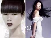 Cô gái Trung Quốc mắt hí, lưng gù vẫn trở thành siêu mẫu đắt giá